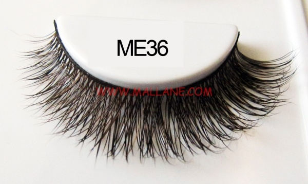Luxury Sable Fur Strip Lashes ME36
