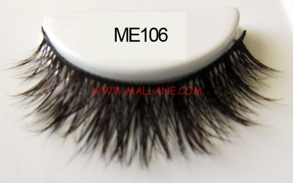 Luxury Sable Fur Strip Lashes ME106