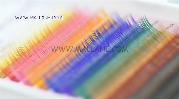 High Quality Colored Eyelash Extensions