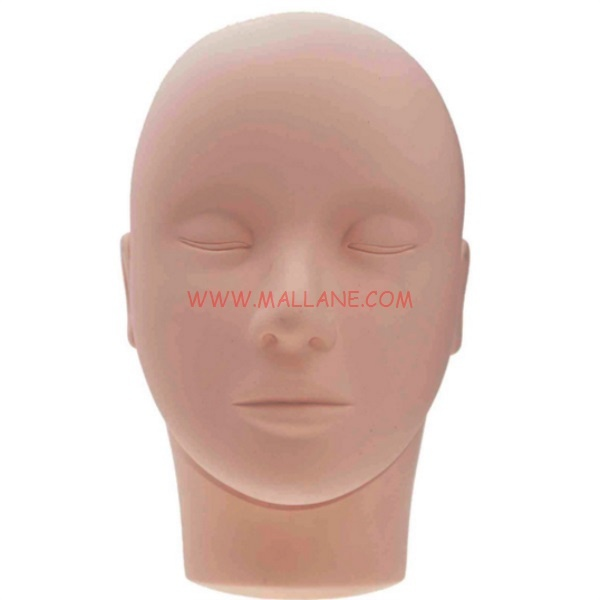 Mannequin Head For Eyelash Extension Training 01