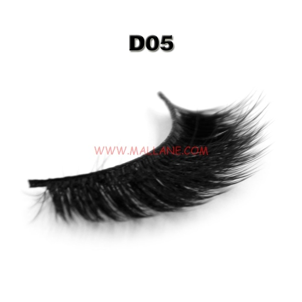 3D Style Faux Mink Strip Lashes D05