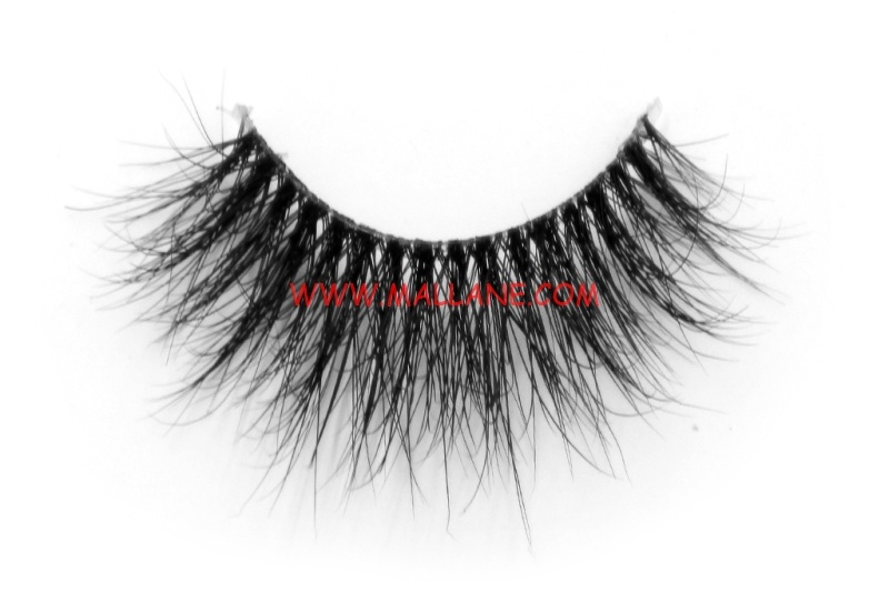 3D Clear Band Mink Strip Lashes SC21