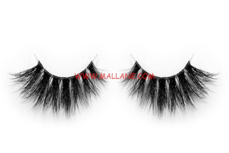 3D Clear Band Mink Strip Lashes SC31
