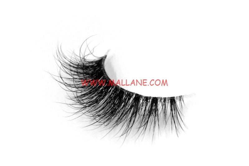3D Clear Band Mink Strip Lashes SC43