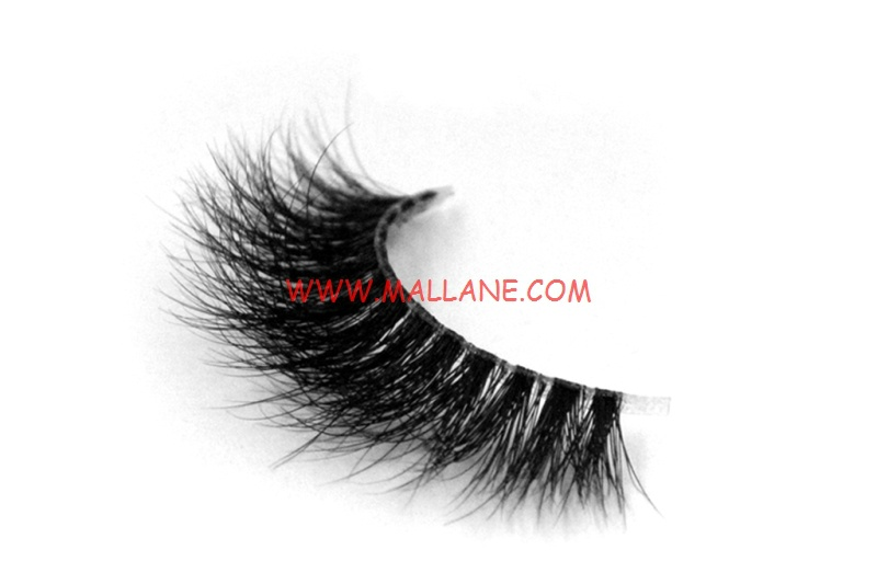 3D Clear Band Mink Strip Lashes SC51