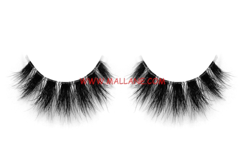 3D Clear Band Mink Strip Lashes SC52