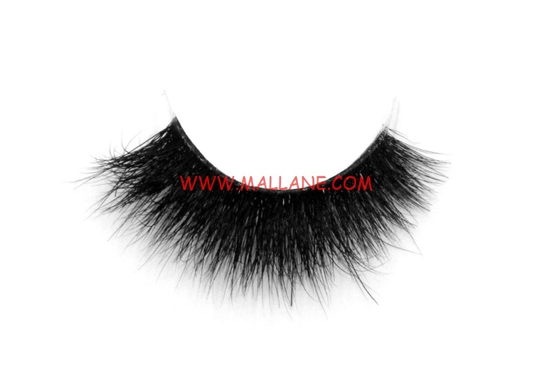 3D Clear Band Mink Strip Lashes SC59