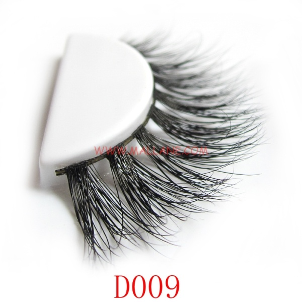 3D Style Mink Strip Lashes D009