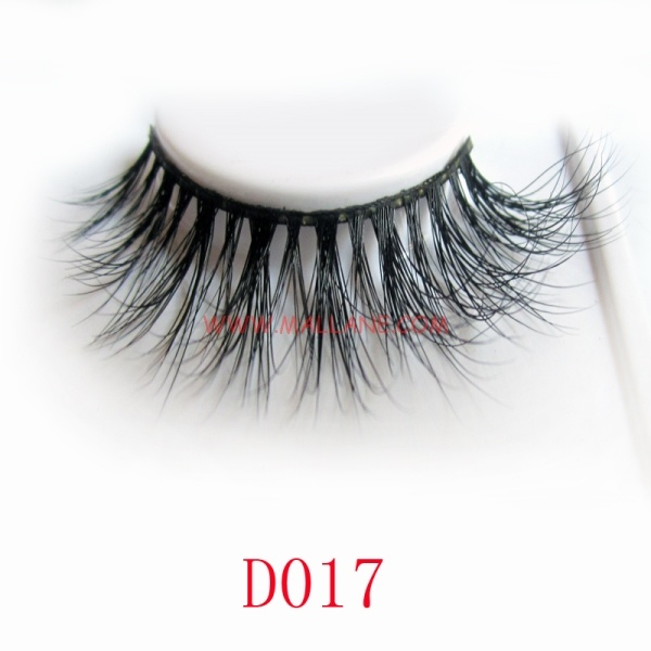 3D Style Mink Strip Lashes D017