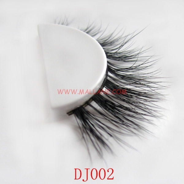3D Style Mink Strip Lashes DJ002