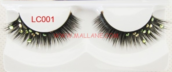 Crystal Mink Strip Lashes LC001