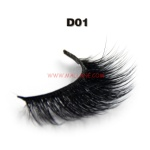 3D Style Faux Mink Strip Lashes D01