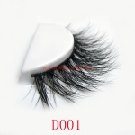 3D Style Mink Strip Lashes D001