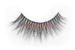 3D Clear Band Mink Strip Lashes SC20