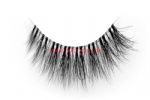 3D Clear Band Mink Strip Lashes SC27
