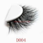3D Style Mink Strip Lashes D004