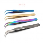 Eyelash Extension Tweezers Curved MCS15