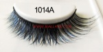 Colored Mink Strip Lashes 1014A