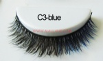 Colored Mink Strip Lashes C3-blue