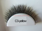 Colored Mink Strip Lashes C3-yellow